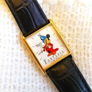 Vintage Seiko quartz ladies Mickey Fantasia watch